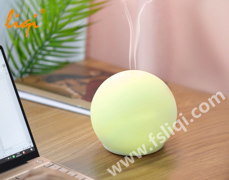 LF-MD010 Round Shape Glass Aroma Diffuser